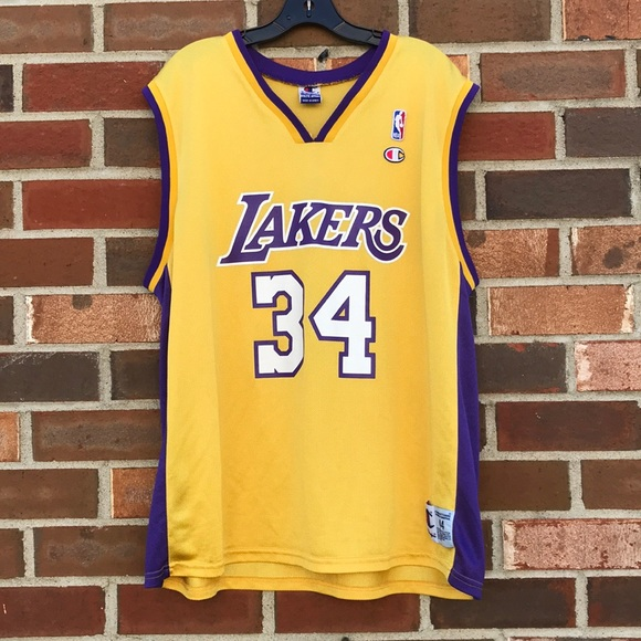 fe788789e Champion Other - 90 s O Neal Lakers jersey Champion men s Sz L